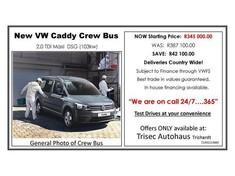 2017 Volkswagen Caddy MAXI Crewbus 2.0 TDi DSG Mpumalanga Secunda