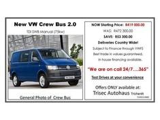 2017 Volkswagen Transporter T6 CBUS 2.0 TDi SWB 75KW FC PV Mpumalanga Secunda