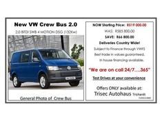 2017 Volkswagen Transporter T6 CBUS 2.0 BiTDi SWB 132 KW 4MOT DSG FC PV Mpumalanga Secunda