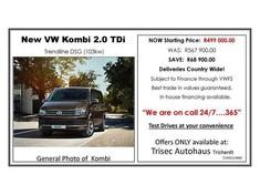 2017 Volkswagen Kombi 2.0 TDi DSG 103kw Trendline Mpumalanga Secunda