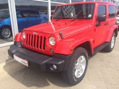 2015 Jeep Wrangler Sahara 3.6l V6 At 2dr  North West Province Rustenburg