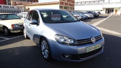 2009 Volkswagen Golf Vi 2.0 Tdi Highline  Western Cape Cape Town_0