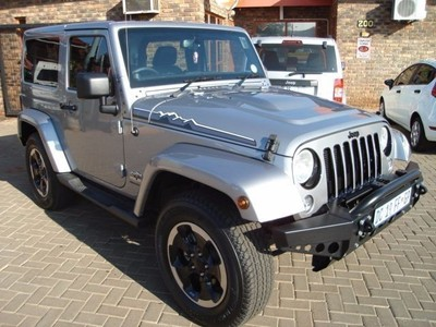 used jeep wrangler sahara a t polar edition for sale. Black Bedroom Furniture Sets. Home Design Ideas