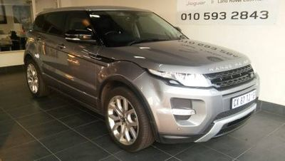 used land rover evoque 2 2 sd4 dynamic for sale in gauteng. Black Bedroom Furniture Sets. Home Design Ideas