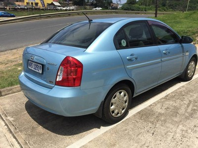 used hyundai accent 1 6 fluid 5 door auto for sale in. Black Bedroom Furniture Sets. Home Design Ideas