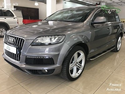 used audi q7 4 2 tdi v8 quattro tip s line 7 seater for sale in mpumalanga id 1722271. Black Bedroom Furniture Sets. Home Design Ideas