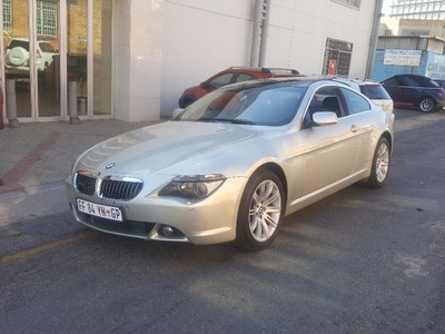used bmw 6 series 645ci coupe a t e63 for sale in gauteng id 1740925. Black Bedroom Furniture Sets. Home Design Ideas