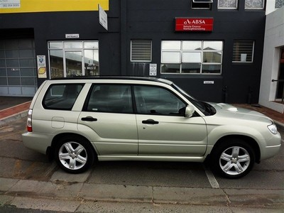 used subaru forester 2 5 xt for sale in western cape. Black Bedroom Furniture Sets. Home Design Ideas