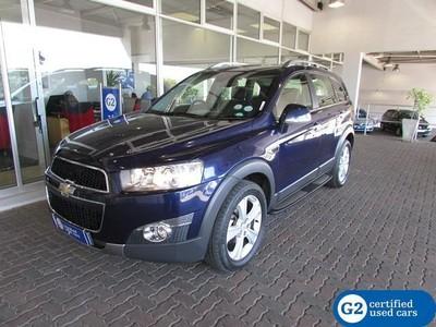 2012 Chevrolet Captiva 2.2d Ltz 4x4 At  Gauteng Sandton_0