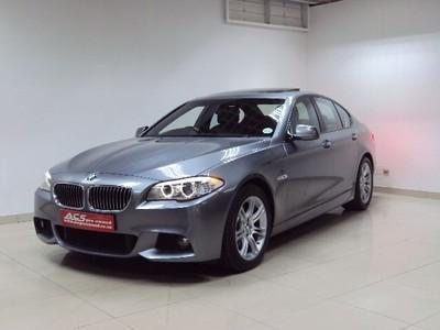 2012 BMW 5 Series 530d MSPORT AUTO F10 SUNROOF XENONS 69000KMS Gauteng Benoni_2
