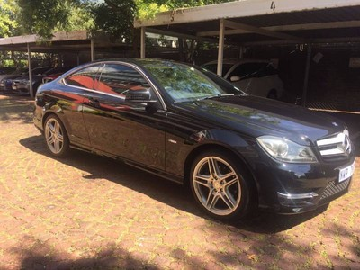 Used mercedes benz c class c250 be coupe a t for sale in for Netstar 5 mercedes benz