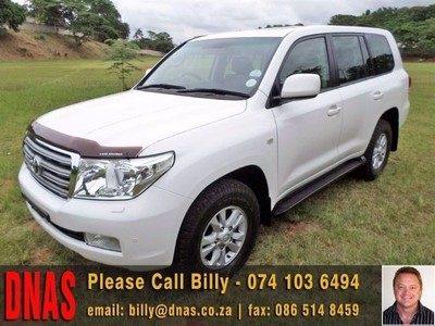 Used Toyota Land Cruiser 200 V8 Td Vx A T For Sale In
