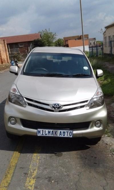 Toyota Avanza New >> Used Toyota Avanza 1.5 Sx for sale in Gauteng - Cars.co.za (ID:1864362)