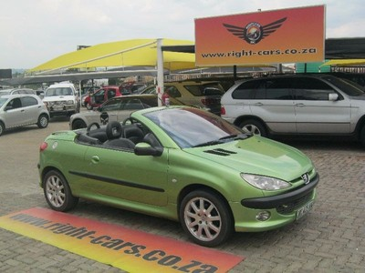 Used peugeot 206 2 0 coupe cabriolet for sale in gauteng id 1925218 - Peugeot 206 coupe cabriolet review ...