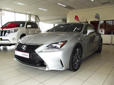 used lexus rc f 350 f sport v6 for sale in gauteng id 1952205. Black Bedroom Furniture Sets. Home Design Ideas
