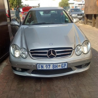 Used mercedes benz clk class clk 55 amg for sale in for Used mercedes benz clk for sale