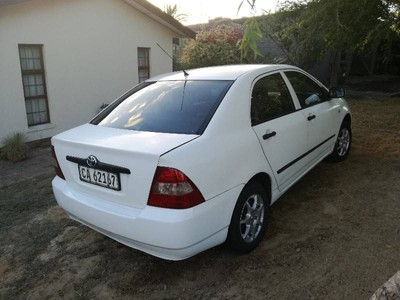 used toyota corolla 160i for sale in western cape   cars