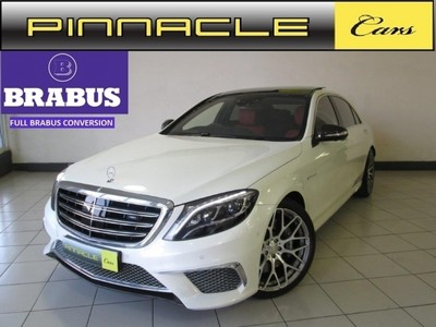 Used mercedes benz s class s65 amg brabus conversion for for Used mercedes benz s65 amg for sale