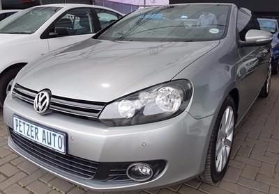 2012 Volkswagen Golf Vi 1.4 Tsi Dsg Cabrio 118kw Hline Gauteng Vereeniging