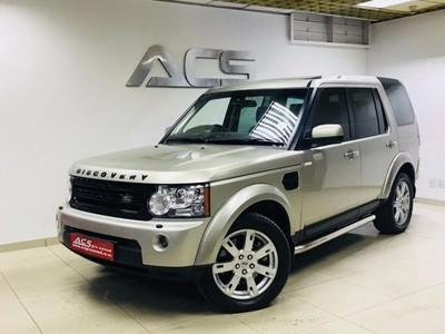 used land rover discovery 4 sdv6 3 0 se auto 7 seater. Black Bedroom Furniture Sets. Home Design Ideas