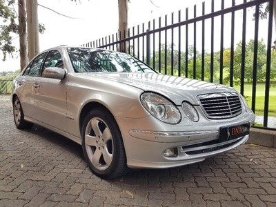 used mercedes benz e class e 500 avantgarde for sale in gauteng id 2834826. Black Bedroom Furniture Sets. Home Design Ideas