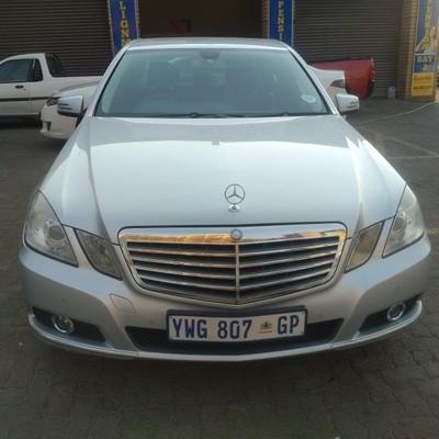 Used mercedes benz e class e 200 avantgarde for sale in for Mercedes benz e class 2011 for sale
