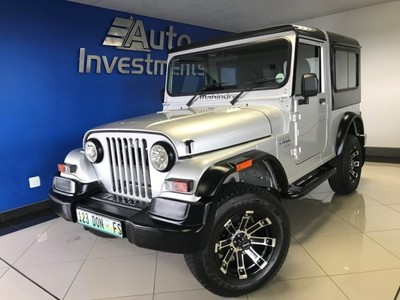 used mahindra thar hard top diesel 4x4 low mileage for sale in gauteng id. Black Bedroom Furniture Sets. Home Design Ideas