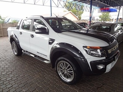 used ford ranger 3 2tdci wildtrak auto double cab bakkie for sale in gauteng id. Black Bedroom Furniture Sets. Home Design Ideas