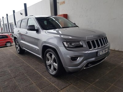 used jeep grand cherokee 3 6 overland for sale in gauteng id 3121795. Black Bedroom Furniture Sets. Home Design Ideas